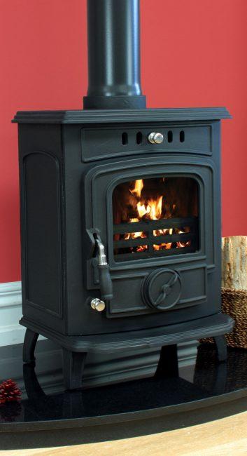 Henley Aran Matt Black Dry 6kw £320