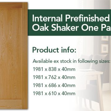 Shaker Oak Pre-finished from £90