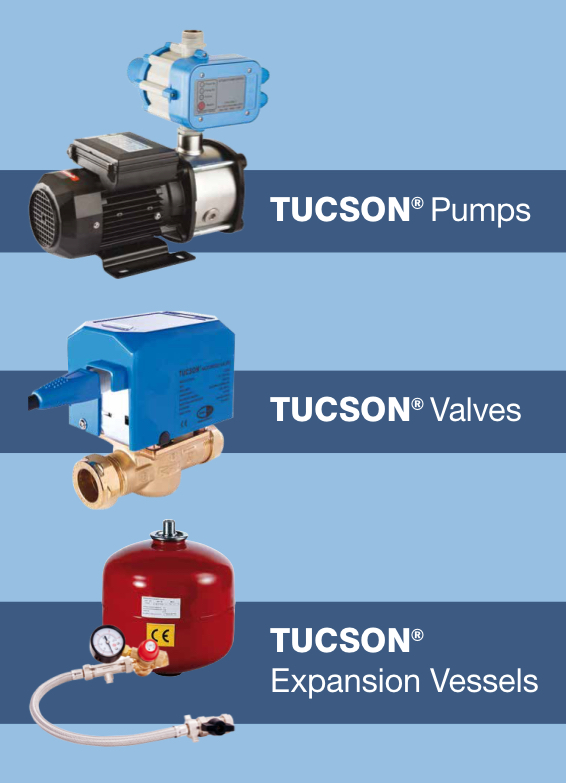 Tucson pumps, valves & expansion vessels